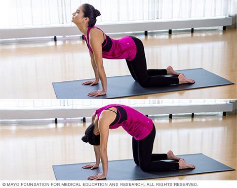 slide show yoga poses